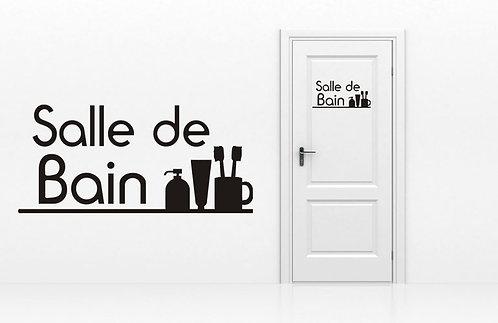 Sticker Salle de Bain 1