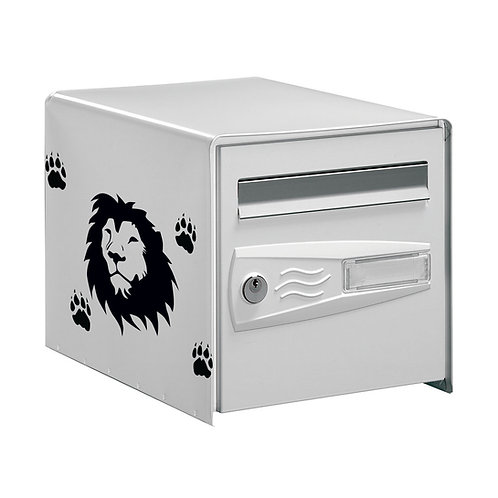 Sticker Déco Boîte aux lettres  Tête de Lion