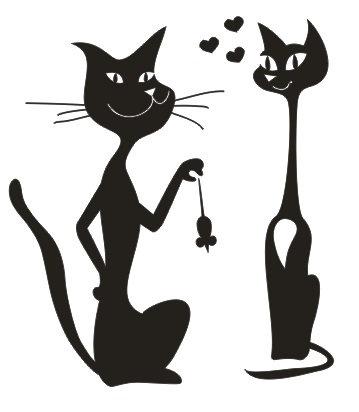 Couple de Chats + Souris