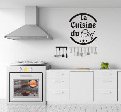 Sticker La cuisine du Chef