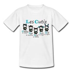T-shirt Cutiz bleu