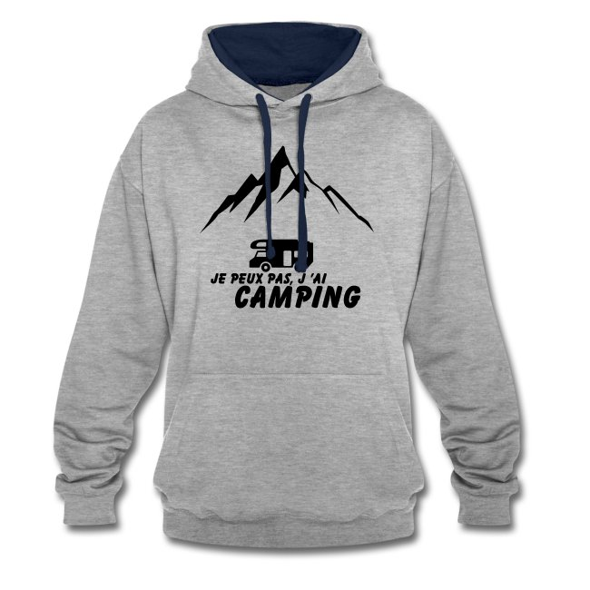 Je peux pas j'ai Camping