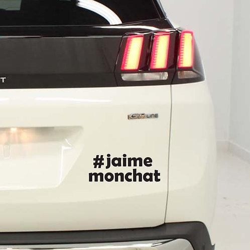 Sticker  #Hashtag - Catégorie: Animaux