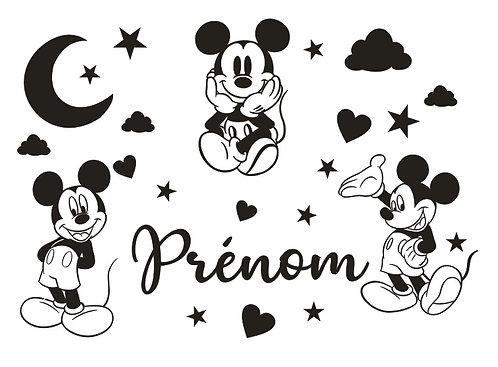 Grand Sticker Chambre - Thème Mickey 70cm