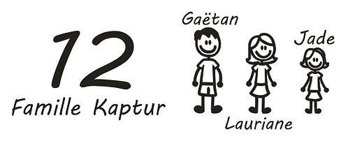 Commande Lauriane