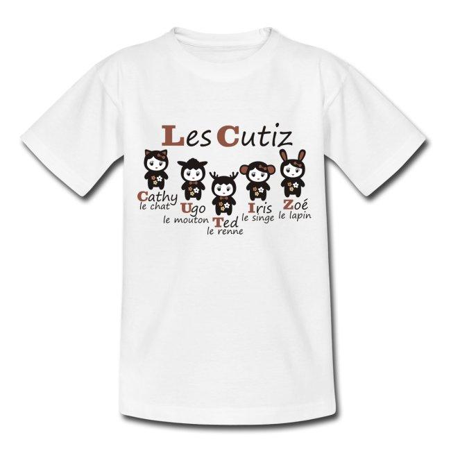 T-shirt Cutiz marron