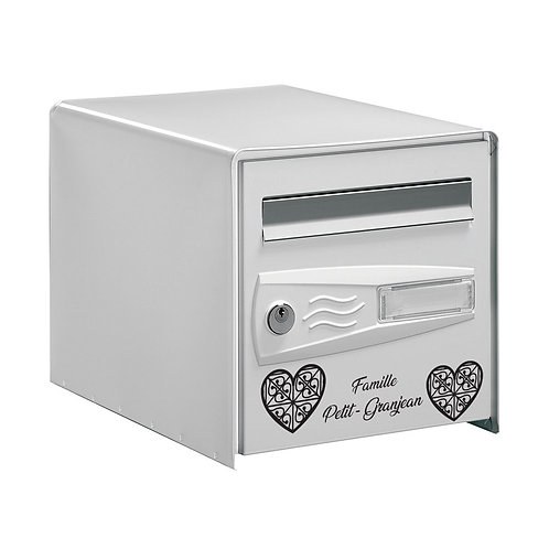 Sticker Boîte aux lettres Coeurs 3