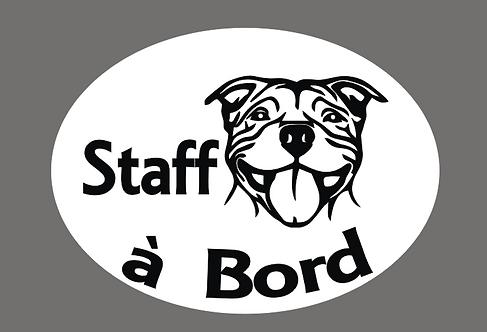 Staff à Bord - Personnalisation possible