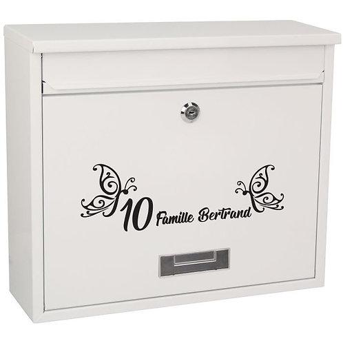 Sticker Boîte aux lettres Papillons 3