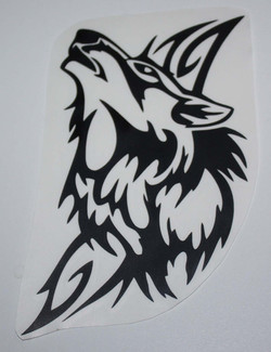 Tête de Loup Tribal
