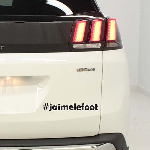 Sticker  #Hashtag - Catégorie: Sport