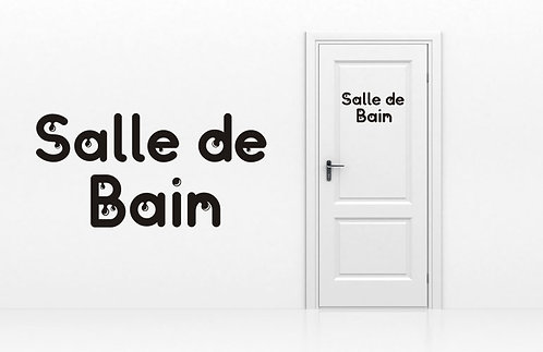 Sticker Salle de Bain 5