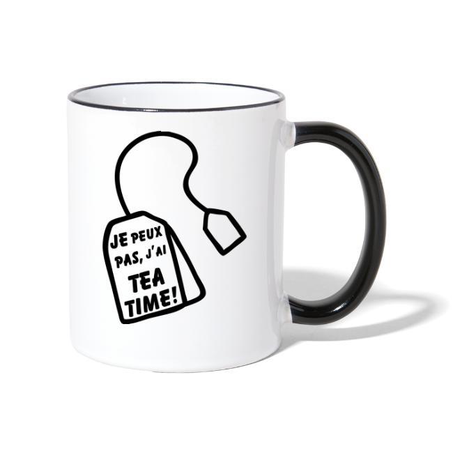 Je peux pas, j'ai Tea time