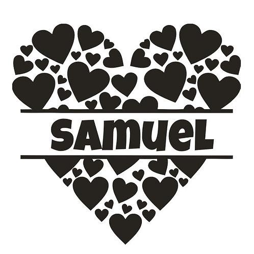 Sticker Chambre - Thème Coeurs