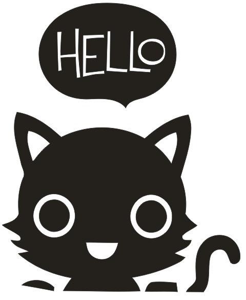 "Chat ""Hello"""