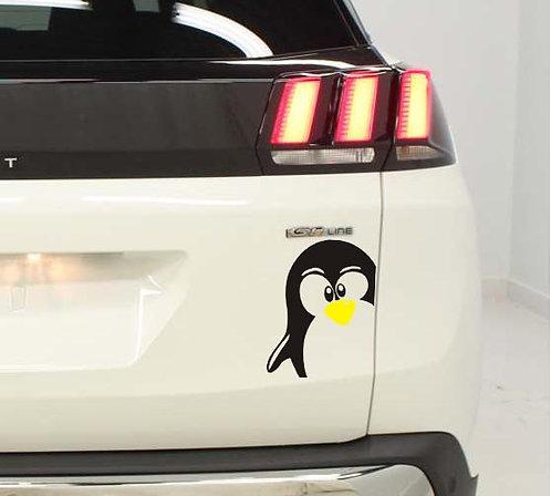 1 Sticker Pingouin