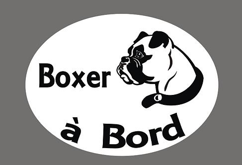 Boxer à Bord - Personnalisation possible