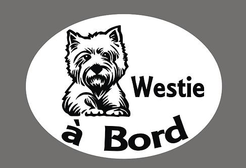 Westie à Bord - Personnalisation possible