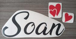 Prénom + Coeurs