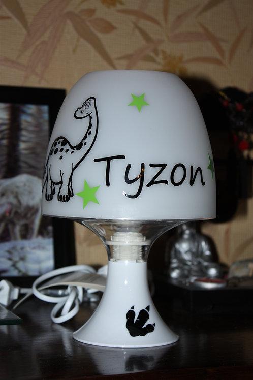 Lampe Personnalisée - Thème Dinosaure