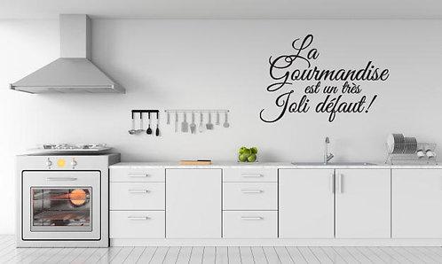 Sticker La Gourmandise....