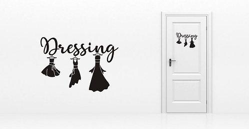 Sticker Dressing Robes