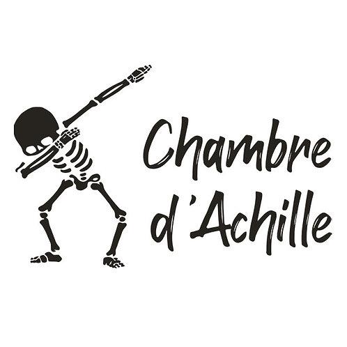 Sticker Chambre - Thème Squelette qui dab