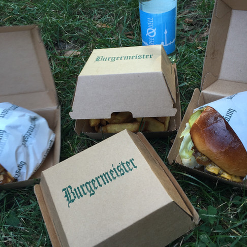 Berlin - Burgermeister