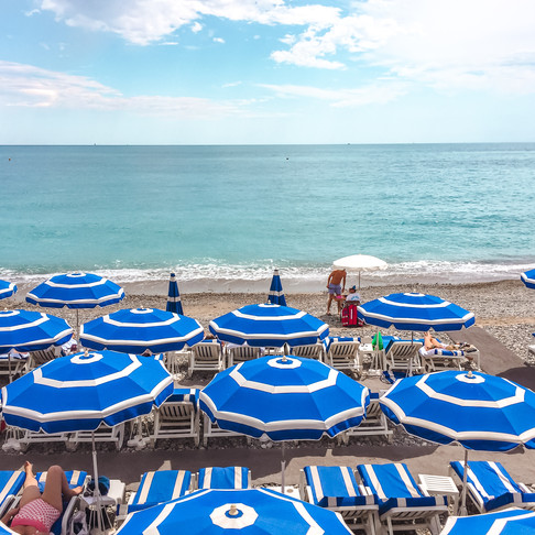 Cote D'Azur - Arabayla Güney Fransa sahilleri
