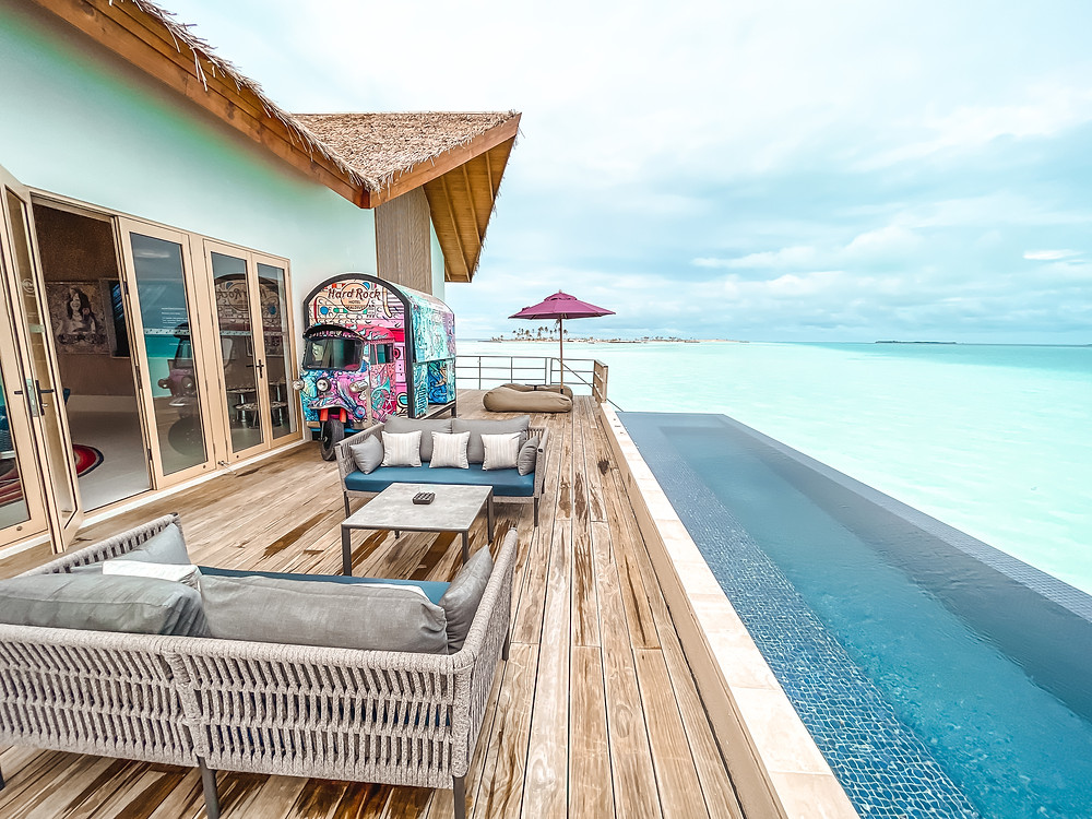 Hard Rock Maldives Overwater villa