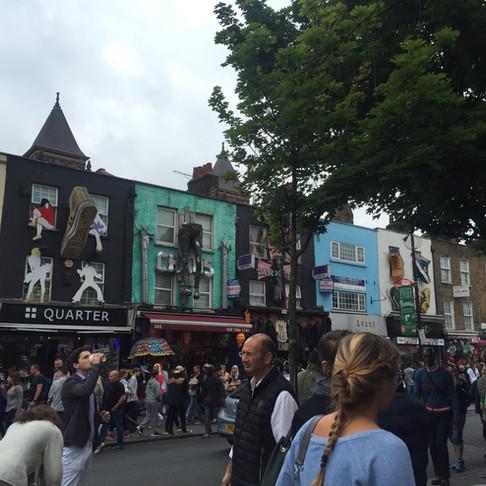 Londra'nın asi semtleri: Shoreditch ve Camden