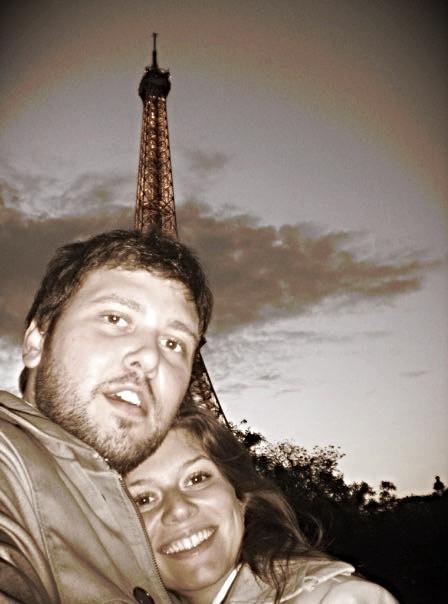 Mutlu turistler