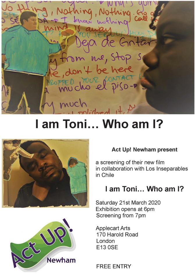I am Toni...Who Am I?