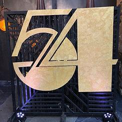 Studio 54 Media wall Cloudland