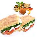 カプレーゼのパニーニ   - Panino alla Caprese Lunch Box -