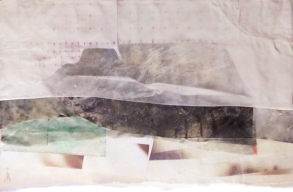 Landscape Dried Glue