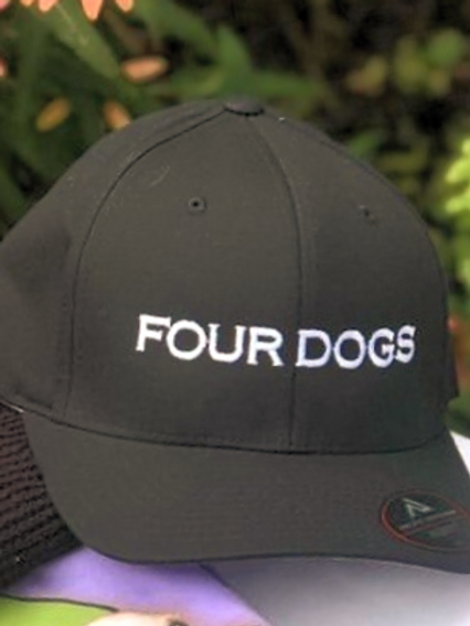 Four Dog Baseball Cap (fitted)
