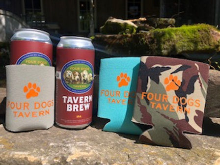 Four Dog Beer Koozies
