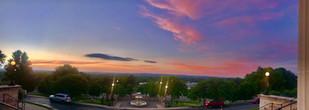 Beautiful view from Van Meter during sunset