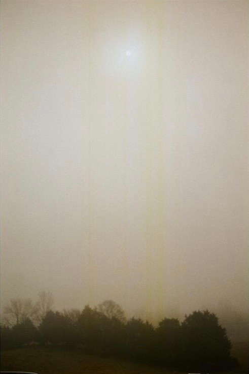 a foggy December mornin'