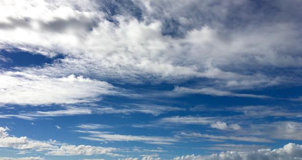 Chalky sky
