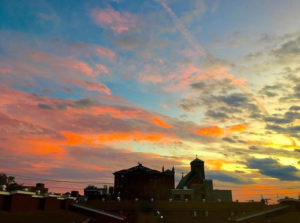 On this damp & dark New Year's Eve, posting some of my favorite sunset pics of the year . . . Most were taken from the roof of my building, my go-to getaway these days.