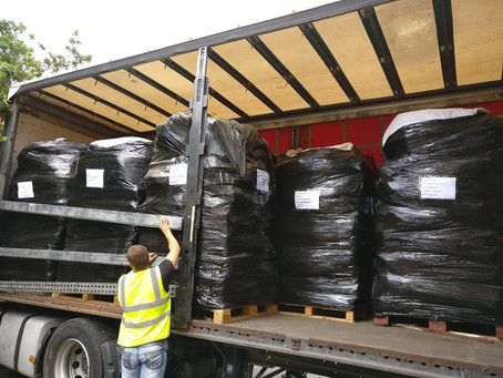 Ten Pallets of Aid are on Their Way