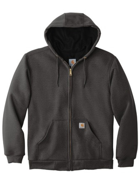 Carhartt ® Rain Defender ® Rutland Thermal-Lined Hooded Zip-Front Sweatshirt
