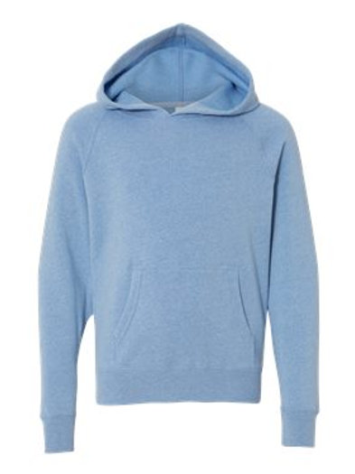 Hooded Sweatshirt Independent Trading Toddler-Adult Sizes