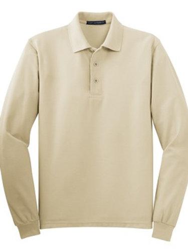 Port Authority Long Sleeve Silk Touch Polo