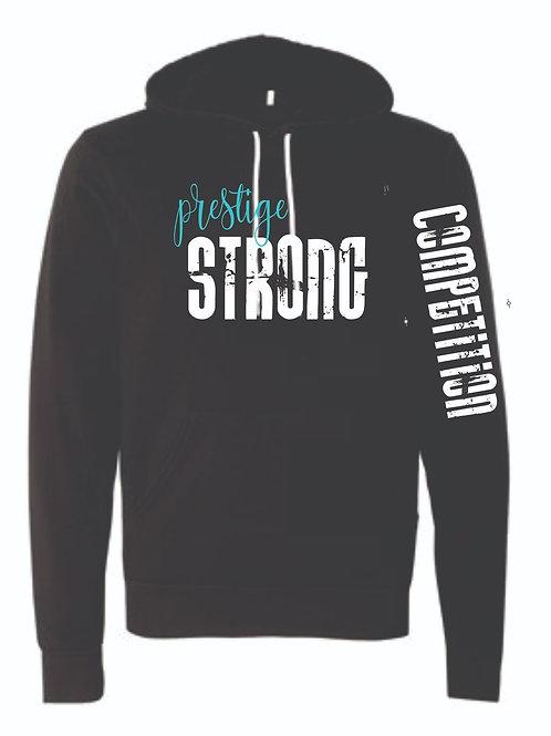 Bella Canvas Prestige Strong Hooded Sweatshirt Optional Sleeve Printing