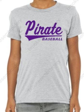Pirate Baseball YOUTH shirts