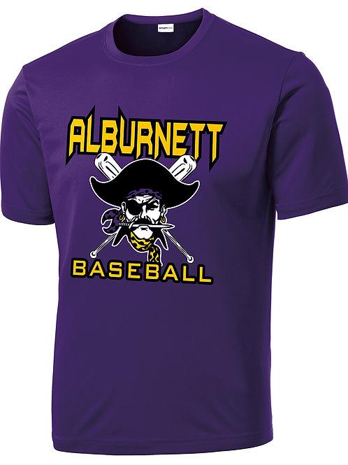 Alburnett Baseball Performance Tshirt