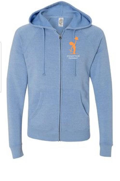 Zip Up Independent Trading Sweatshirt